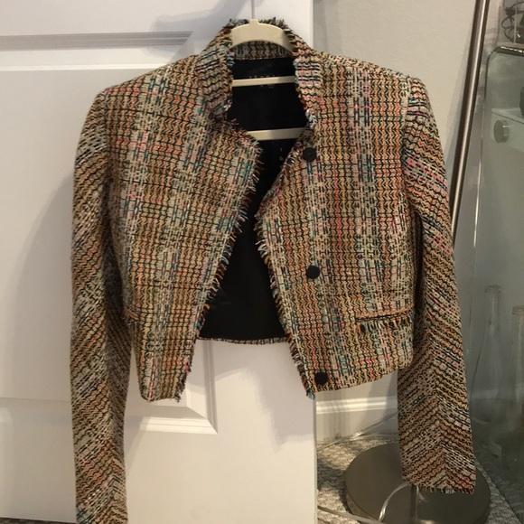 1f23dcda05 Theory Jackets & Coats   Tweed Jacket Brand New   Poshmark